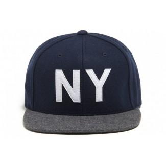 King NY snap-back cap