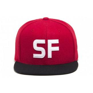 King SF snap-back cap
