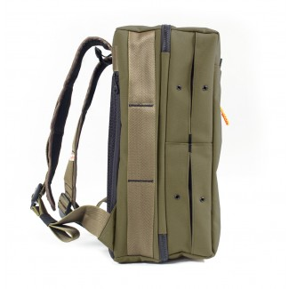 The Shrine Co Olive Weekender Sneaker Backpack- NEW