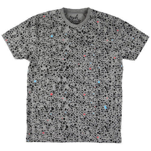 Fresh Goods Safari Dots Tee - Heather Gray