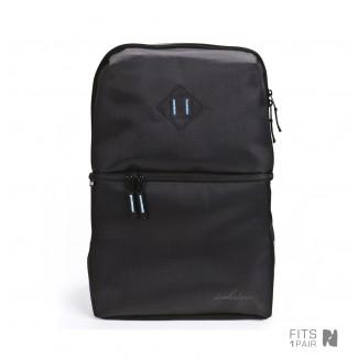 Shrine  Diamond Press Black Sneaker Daypack Backpack