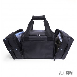 Shrine Diamond Press Black Sneaker Duffel Gym Bag